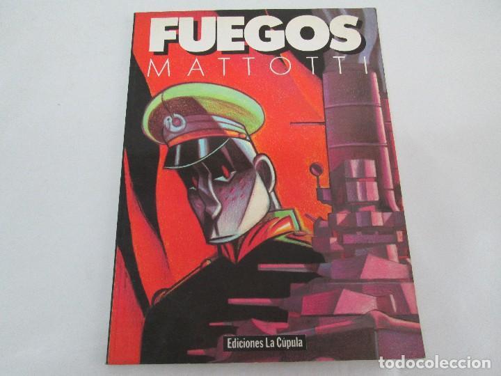 Cómics: FUEGOS. MATTOTI.. EDICIONES LA COPULA.1988. COMICS Y TEBEOS. VER FOTOGRAFIAS ADJUNTAS - Foto 6 - 125326723