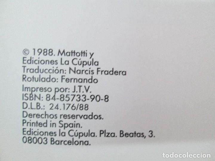 Cómics: FUEGOS. MATTOTI.. EDICIONES LA COPULA.1988. COMICS Y TEBEOS. VER FOTOGRAFIAS ADJUNTAS - Foto 8 - 125326723