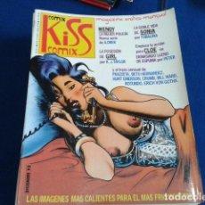Cómics: COMIX MAGAZINE EROTICO MENSUAL ( KISS COMIX Nº 2 ) SOLO PARA ADULTOS DICIEMBRE 1992 . Lote 126891807