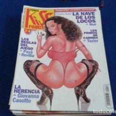 Cómics: COMIX MAGAZINE EROTICO MENSUAL ( KISS COMIX Nº 74 ) SOLO PARA ADULTOS . Lote 126894047