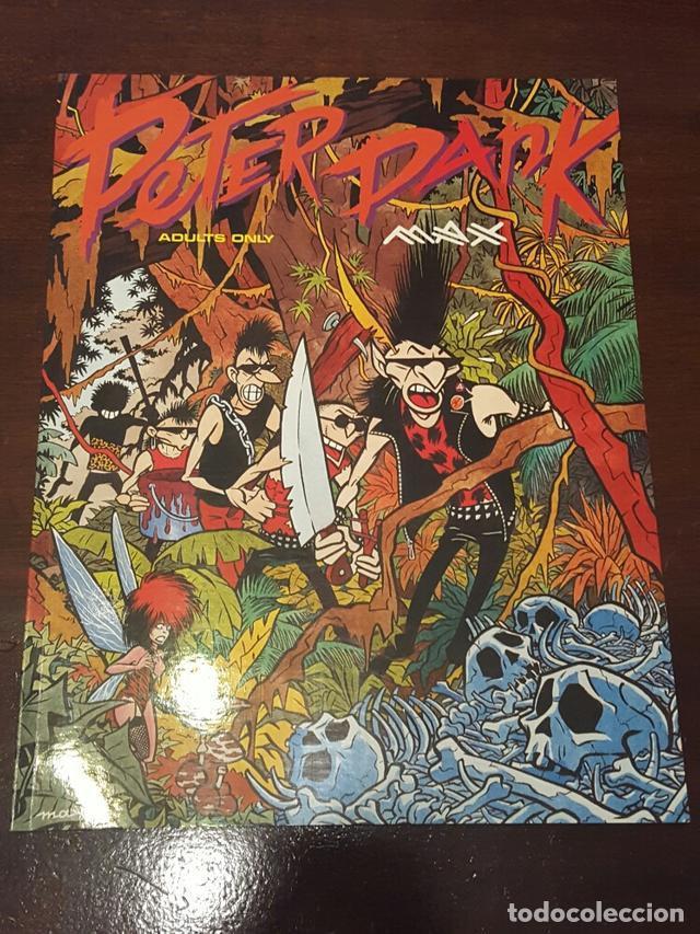 COMIC - PETER PANK - MAX - EDICION U.S.A - EDITADO EN 1991 POR CATALAN COMMUNICATIONS (Tebeos y Comics - La Cúpula - El Víbora)