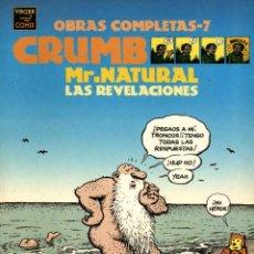 Cómics: CRUMB OBRAS COMPLETAS-7: MR. NATURAL (LA CÚPULA, 1999). Lote 127777827