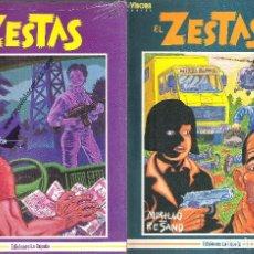 Cómics: EL ZESTAS (COLECCIÓN COMPLETA). Lote 127817631