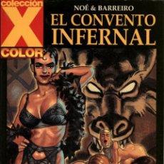 Cómics: COLECCIÓN X-114: EL CONVENTO INFERNAL (LA CÚPULA, 2003) DE NOÉ Y BARREIRO. Lote 128468419