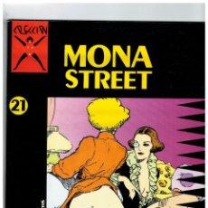 Cómics: COLECCIÓN X Nº 21 -MONA STREET- FROLLO. LA CÚPULA,1989. Lote 128494563