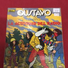 Cómics: GUSTAVO CONTRA LA ACTIVIDAD DEL RADIO BUEN ESTADO REF.15. Lote 128611971