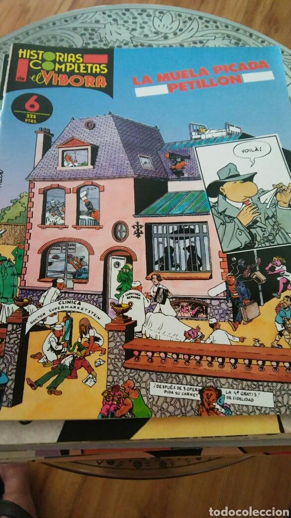 HISTORIAS COMPLETAS DE EL VÍBORA LA MUELA PICADA DE PELILLOS NÚM 6 EDIT LA CÚPULA (Tebeos y Comics - La Cúpula - El Víbora)