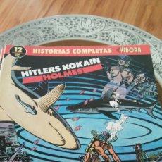 Cómics: HISTORIAS COMPLETAS DE EL VÍBORA NÚM 12 HITLER KOKAIN DE HOLMES EDIT LA CÚPULA. Lote 129079358