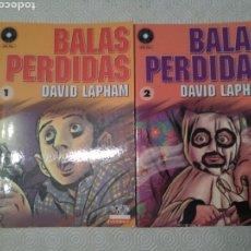 Cómics: BALAS PERDIDAS (DAVID LAPHAM) - #1-5. Lote 129079423
