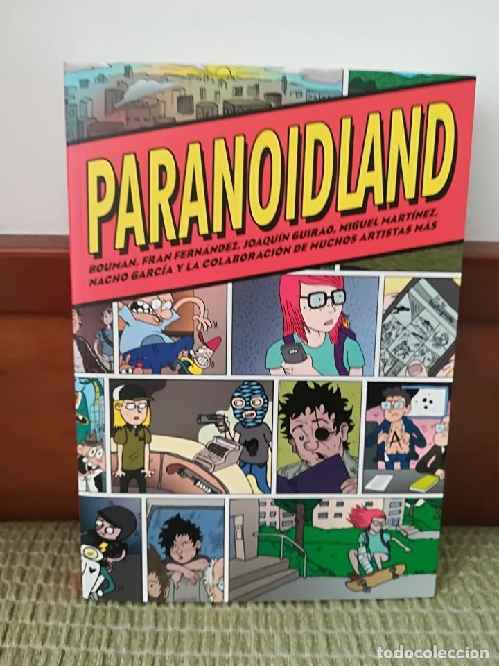 PARANOIDLAND (Tebeos y Comics - La Cúpula - Autores Españoles)