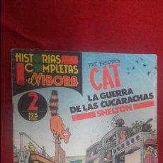 Cómics: HISTORIAS COMPLETAS EL VIBORA 2 - LA GUERRA DE LAS CUCARACHS - SHELTON. Lote 129409195