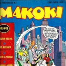 Comics - MAKOKI 1ª EPOCA Nº 2 - CON VALLES, GALLARDO, MEDIAVILLA, SHELTON, MONTESOL, BORRAYO, KURTZMAN, ETC. - 131062240
