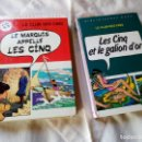 Cómics: LE CLUB DES CINQ BIBLIOTHÈQUE ROSE,LOTE DE 2 COMICS.1972/1974. Lote 132038650