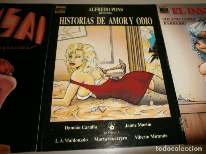 Cómics: lote vibora comix ediciones la cupula buen estado - Foto 3 - 132164486