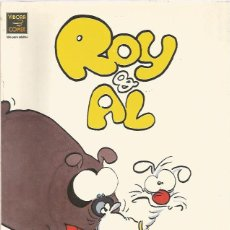 Cómics: ROY & AL - RALF KÖNIG - LA CÚPULA - COLOR - COMO NUEVO. Lote 133297238