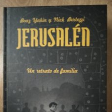 Cómics: JERUSALÉN INTEGRAL - BOAZ YAKIN Y NICK BERTOZZI - LA CÚPULA - CARTONÉ. Lote 133347814