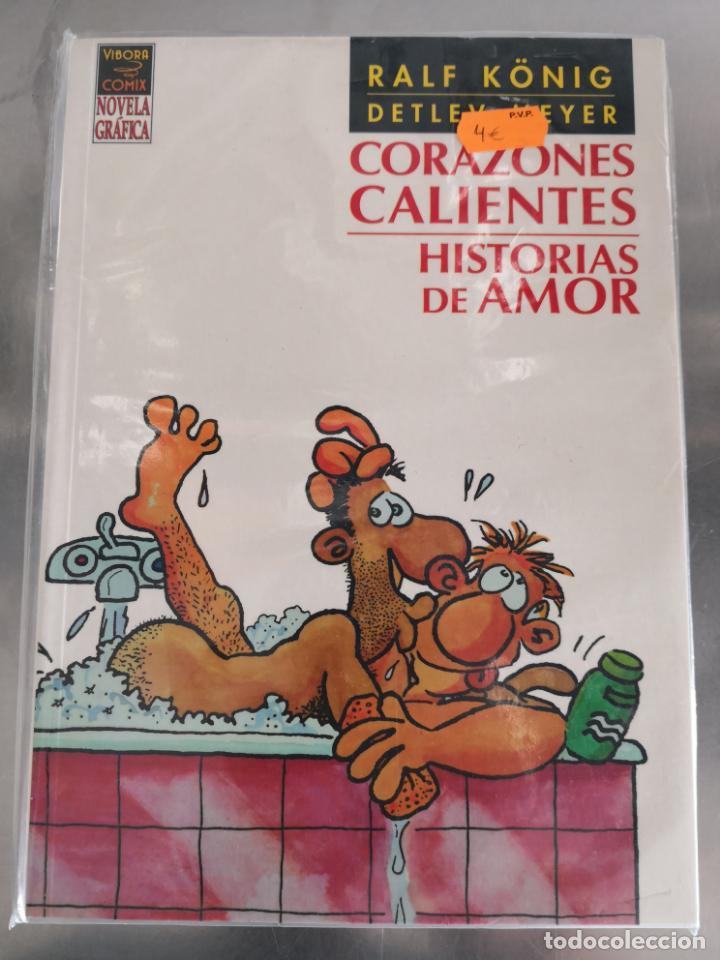 CORAZONES CALIENTES HISTORIAS DE AMOR RALF KÖNIG (Tebeos y Comics - La Cúpula - Comic Europeo)
