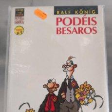 Cómics: PODÉIS BESAROS RALF KÖNIG. Lote 133505606