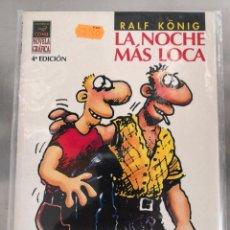 Cómics: LA NOCHE MAS LOCA RALF KÖNIG. Lote 133505610