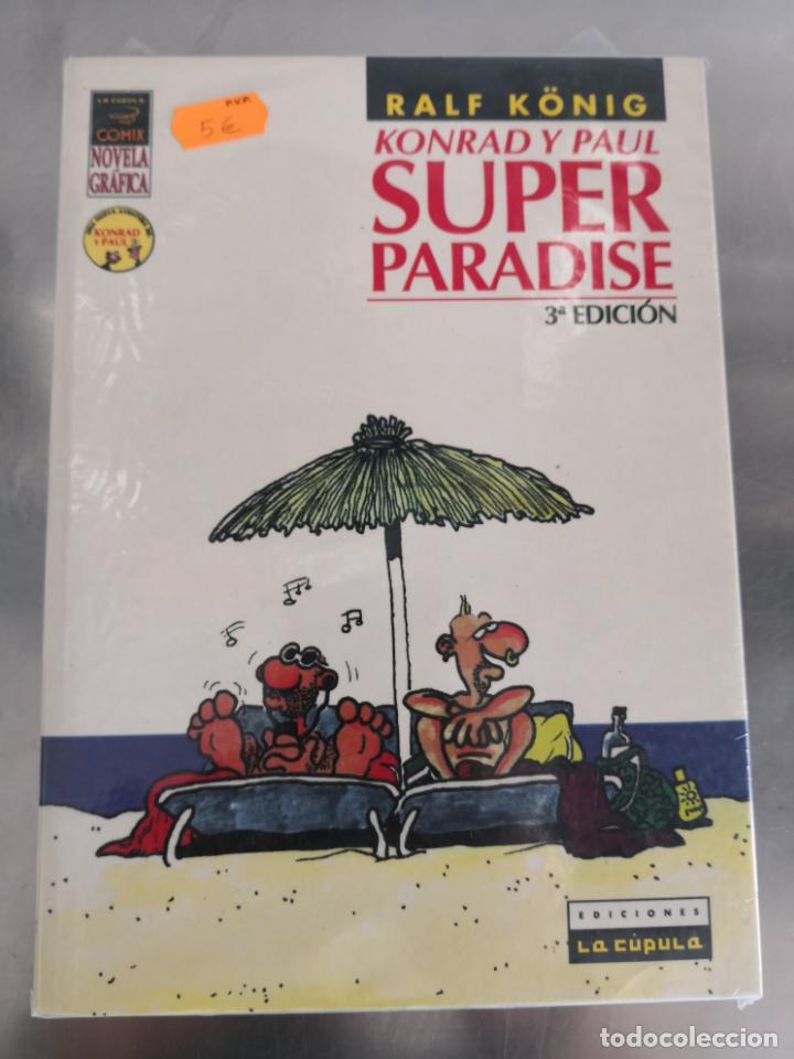 SUPER PARADISE RALF KÖNIG (Tebeos y Comics - La Cúpula - Comic Europeo)