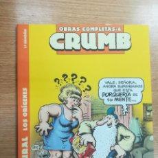 Cómics: CRUMB OBRAS COMPLETAS #6 MR NATURAL LOS ORIGENES (3ª EDICION). Lote 134164114