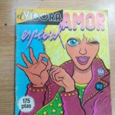 Cómics: EL VIBORA ESPECIAL AMOR. Lote 134180094