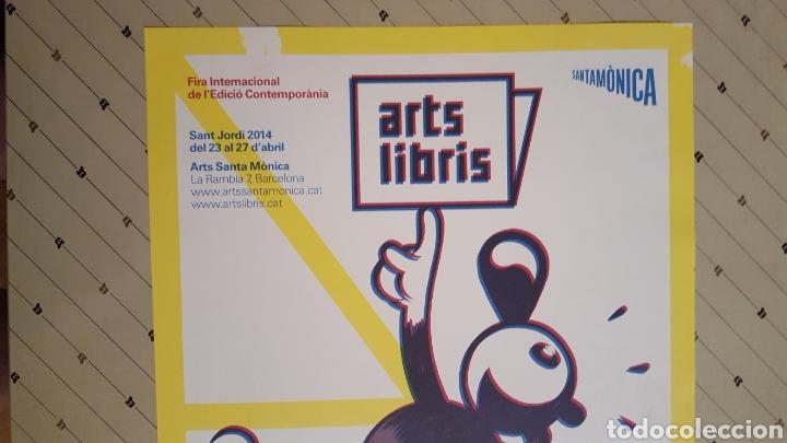 Cómics: Max - Arts Libris - Poster Fira Internacional contemporania Sant Jordi 2014 30 x 42 cm - Foto 2 - 134504133