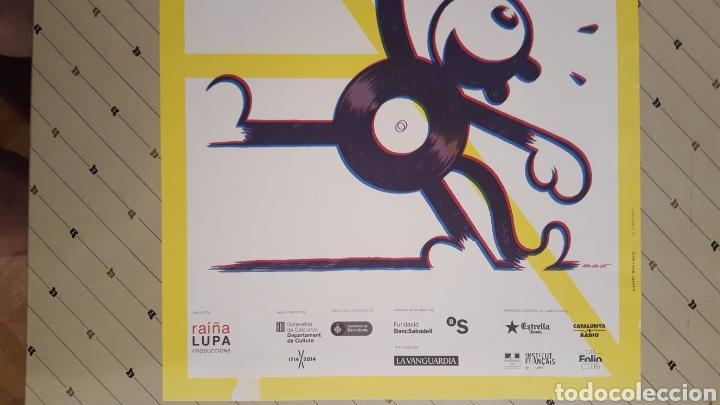 Cómics: Max - Arts Libris - Poster Fira Internacional contemporania Sant Jordi 2014 30 x 42 cm - Foto 3 - 134504133