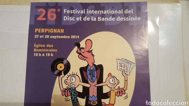 Cómics: Max - Festival International del Disc - poster Festival International del disc et la Bande dessinee - Foto 2 - 134505115