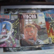 Cómics: TRES COMICS DEL VIBORA. Lote 134541758
