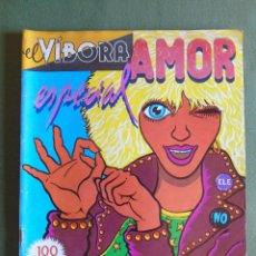 Cómics: EL VIBORA. AMOR ESPECIAL. 1980. EXTRA. ED. CUPULA. S.A. CONTRAPORTADA DE CEESEPE.. Lote 134975098