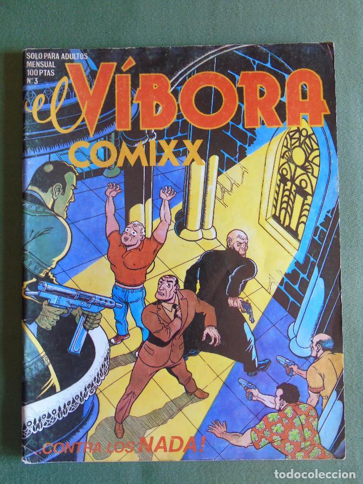 EL VIBORA. COMIXX Nº 3. ED. CUPULA. S.A. 1980 (Tebeos y Comics - La Cúpula - El Víbora)