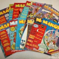 Cómics: LOTE DE 13 COMICS-MAKOKI-PRIMERA EPOCA-1982.. Lote 135787878