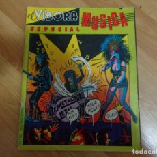 Cómics: EL VIBORA 'ESPECIAL MUSICA'. Lote 135838930