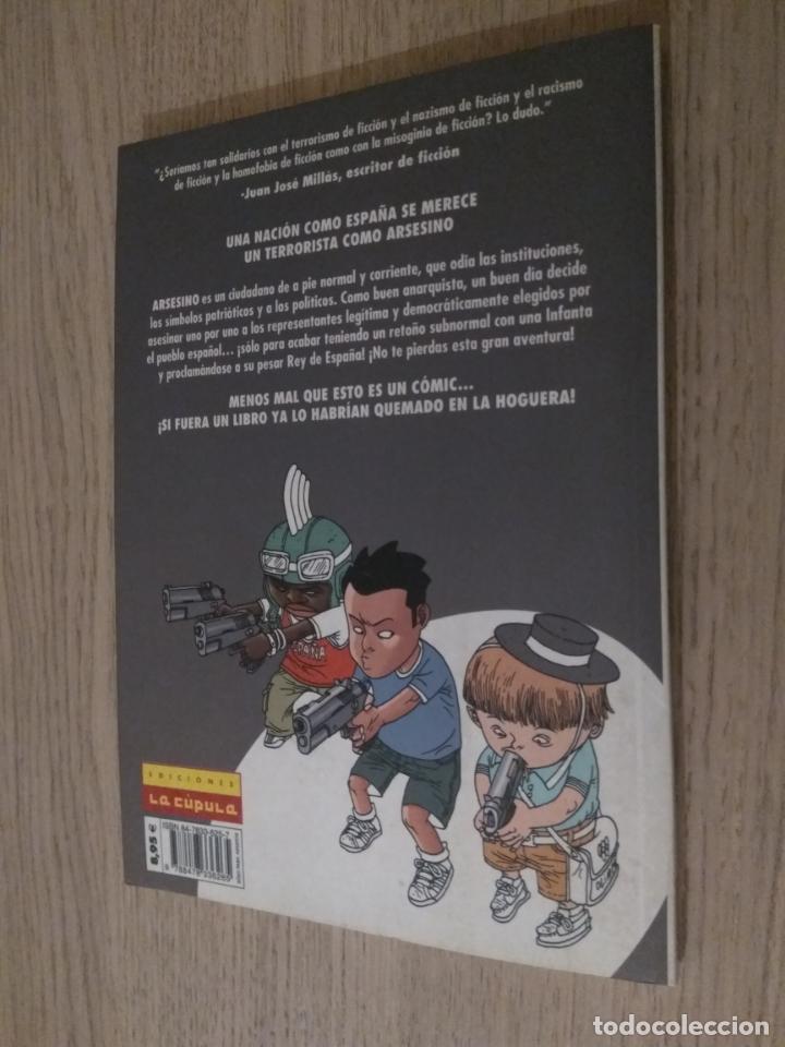 Cómics: ARSESINO DE TERRORISTA A REY DE ESPAÑA (HERNÁN MIGOYA. ENRIC REBOLLO. LA CÚPULA, 2005. - Foto 3 - 135855202
