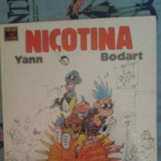 Cómics: NICOTINA: YANN-BODART: LA CUPULA. Lote 43776823
