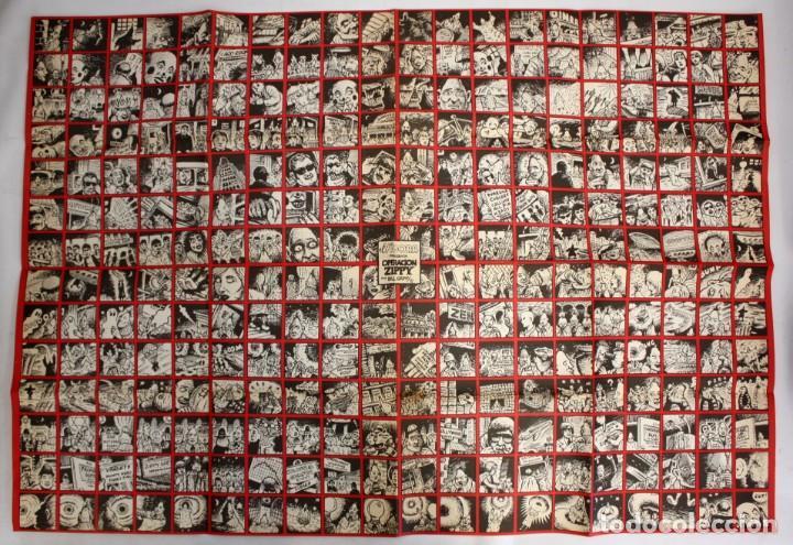 POSTER DEL COMIC- EL VÍBORA- OPERACIÓN ZIPPY.BILLGRIFFY. (Tebeos y Comics - La Cúpula - El Víbora)