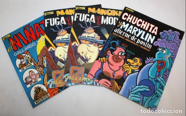 3 COMICS MAKOKI PRESENTA Y 1 COMIC EL VIBORA (EL NIÑATO). (Tebeos y Comics - La Cúpula - El Víbora)