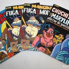 Cómics: 3 COMICS MAKOKI PRESENTA Y 1 COMIC EL VIBORA (EL NIÑATO).. Lote 136272742