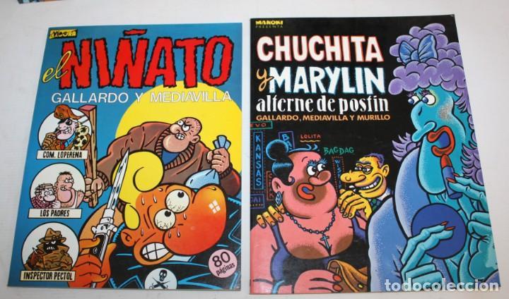 Cómics: 3 COMICS MAKOKI PRESENTA Y 1 COMIC EL VIBORA (EL NIÑATO). - Foto 2 - 136272742