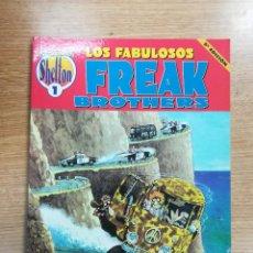 Cómics: LOS FABULOSOS FREAK BROTHERS (SHELTON OBRAS COMPLETAS #1) 5ª EDICION. Lote 136352622