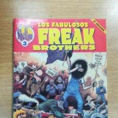 Cómics: LOS FABULOSOS FREAK BROTHERS (SHELTON OBRAS COMPLETAS #3) 4ª EDICION. Lote 136352686