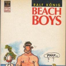 Cómics: RALF KONIG - BEACH BOYS - VIBORA COMIX NOVELA GRAFICA. Lote 136460918