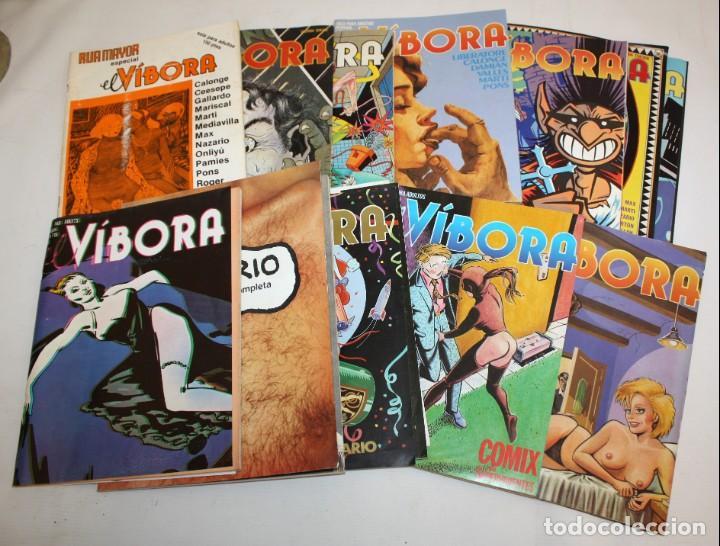 Cómics: 16 COMICS EL VIBORA + ESPECIAL RUAMAYOR+NAZARIO HISTORIETAS. - Foto 2 - 136475078