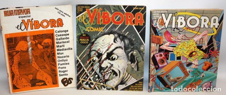 Cómics: 16 COMICS EL VIBORA + ESPECIAL RUAMAYOR+NAZARIO HISTORIETAS. - Foto 8 - 136475078