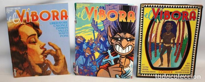 Cómics: 16 COMICS EL VIBORA + ESPECIAL RUAMAYOR+NAZARIO HISTORIETAS. - Foto 9 - 136475078