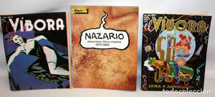 Cómics: 16 COMICS EL VIBORA + ESPECIAL RUAMAYOR+NAZARIO HISTORIETAS. - Foto 12 - 136475078