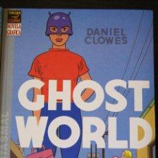 Cómics: GHOST WORLD: RÚSTICA. NÚMERO ÚNICO. DANIEL CLOWES. PRIMERA EDICIÓN.. Lote 137172830