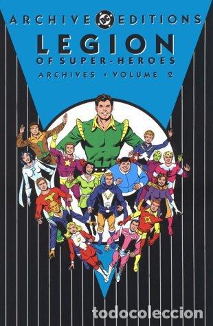 LEGION OF SUPER-HEROES DC ARCHIVES, VOLUME 2 (ARCHIVE EDITIONS (GRAPHIC NOVELS)) (INGLÉS) TAPA DURA (Tebeos y Comics - La Cúpula - Comic USA)