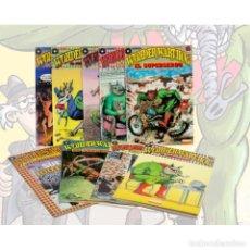 Cómics: WONDER WART-HOG. SUPERSERDO COLECCIÓN COMPLETA 9 CÓMICS - GILBERT SHELTON DESCATALOGADO!!! OFERTA!!!. Lote 138672758